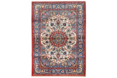 Lot 30-A FINE ISFAHAN RUG, CENTRAL PERSIA