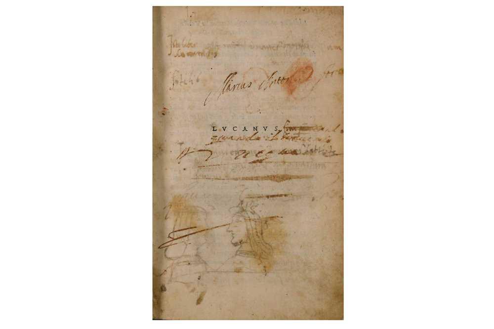 Lot 303-Aldine Press.-  Lucanus (Marcus Annaeus)