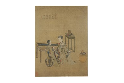 Lot 170-Ladies Drinking Tea
