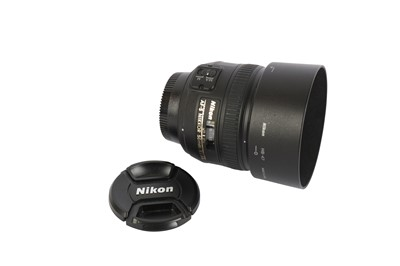 Lot 422-A Nikon AF-S 50mm f1.4G Lens