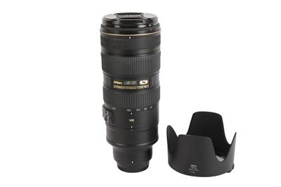 Lot 420 - A Nikon 70-200mm f2.8E AF-S FL ED VR Nikkor Lens