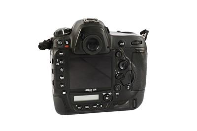 Lot 424-A Nikon D4 Camera Body