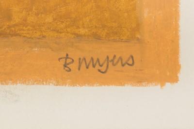 Lot 41-BERNARD MYERS (1925-2007)