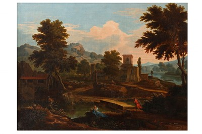 Lot 629-ETIENNE ALLEGRAIN (PARIS 1664 - 1736)