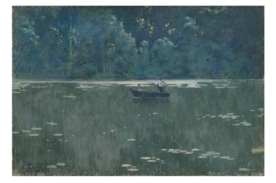 Lot 812-LEON TANZI (FRENCH 1846 - 1913)
