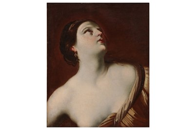 Lot 642-FOLLOWER OF ARTEMISIA GENTILESCHI, LATE 17TH CENTURY