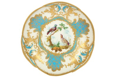 Lot 31-An 18th century Sevres dished bowl
