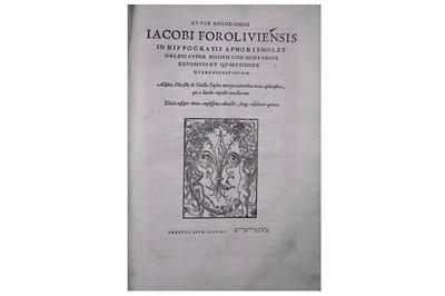 Lot 325-Da Forli (Jacopo) or Giacomo dalla Torre