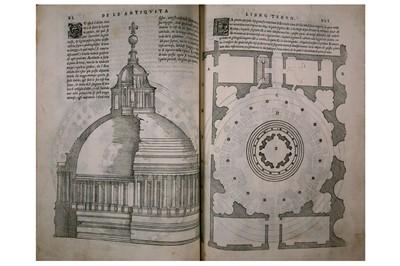Lot 309-Architecture.- Serlio (Sebastiano)