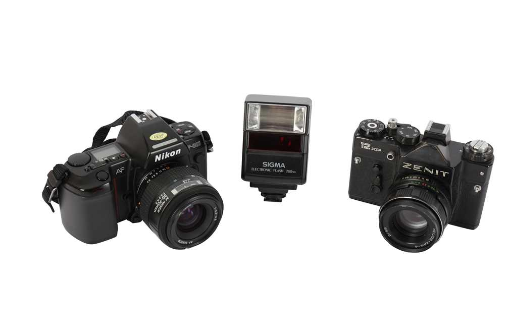 Lot 429 - A Pair of SLR Cameras