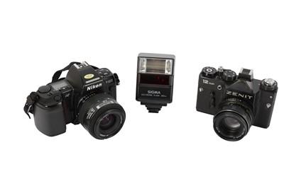 Lot 429 - A Pair of SLR Cameras