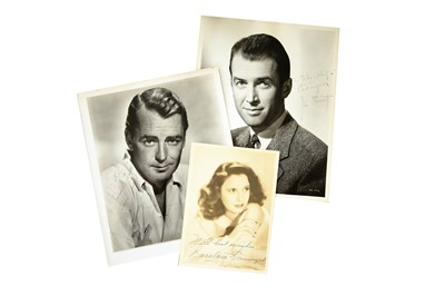 Lot 141-Photograph Collection.- Vintage Hollywood