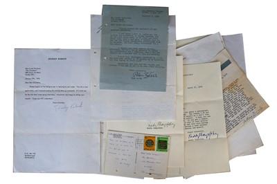 Lot 129-Autograph Collection.- Miscellaneous