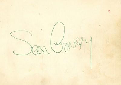 Lot 120-Autograph Albums.- Incl. Sean Connery