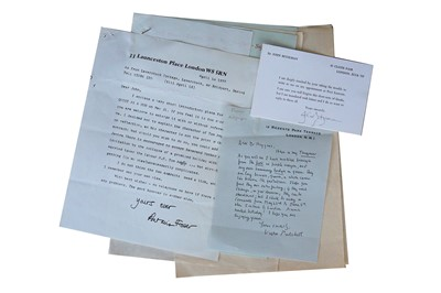 Lot 124-Autograph Collection.- Authors