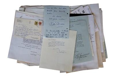 Lot 133-Autograph Collection.- Theatre Interest