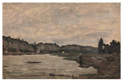 Lot 816-ISIDORE VERHEYDEN (BELGIAN 1846 - 1905)