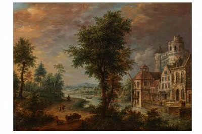 Lot 640-DUTCH SCHOOL (MID-18TH CENTURY)