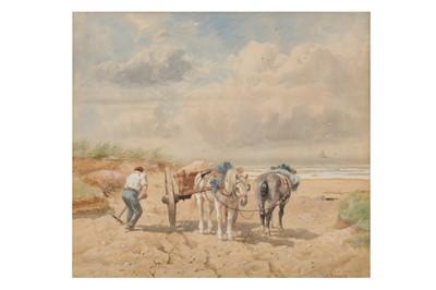 Lot 842-RICHARD BEAVIS R.W.S (BRITISH 1824 - 1896)