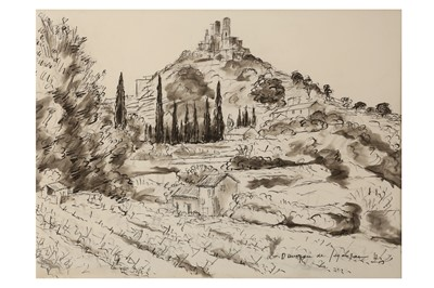 Lot 813-ANDRE DUNOYER DE SEGONZAC (FRENCH 1884 - 1974)