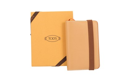 Lot 1241-Tod's Tan Leather Notebook