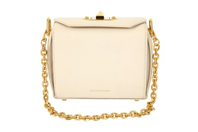 Lot 1202-Alexander McQueen Ivory Box Bag