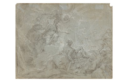 Lot 613-FRENCH SCHOOL (EARLY 18TH CENTURY)
