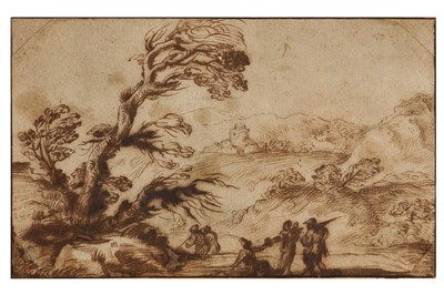 Lot 604-FALSARIO DI GUERCINO (ACTIVE MID-18TH CENTURY)