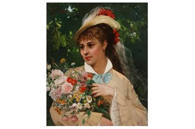 Lot 801-LEONARDO GASSER (FRENCH 1831 - 1892)