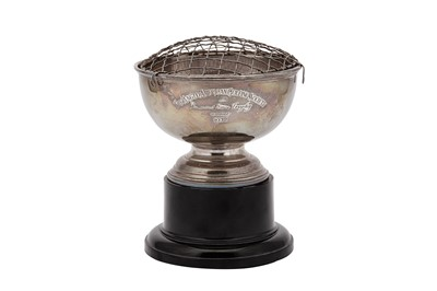 Lot 20-An Elizabeth II sterling silver presentation rose bowl, Birmingham 1971 by Cooper Brothers