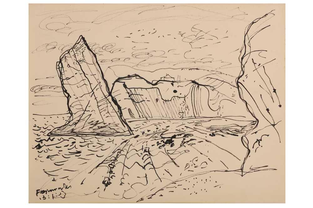 Lot 25-JOHN PIPER, C.H., (1903-1992)