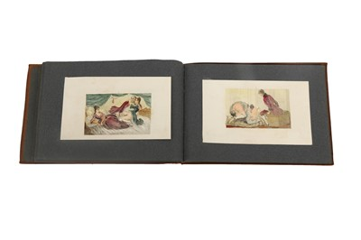 Lot 1020 - Collection of erotic engravings.