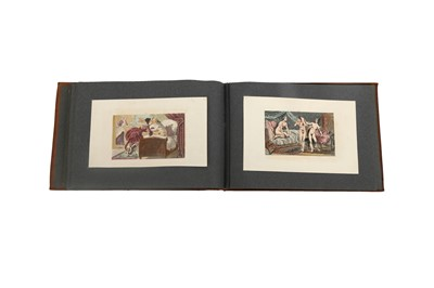 Lot 1020-Collection of erotic engravings.