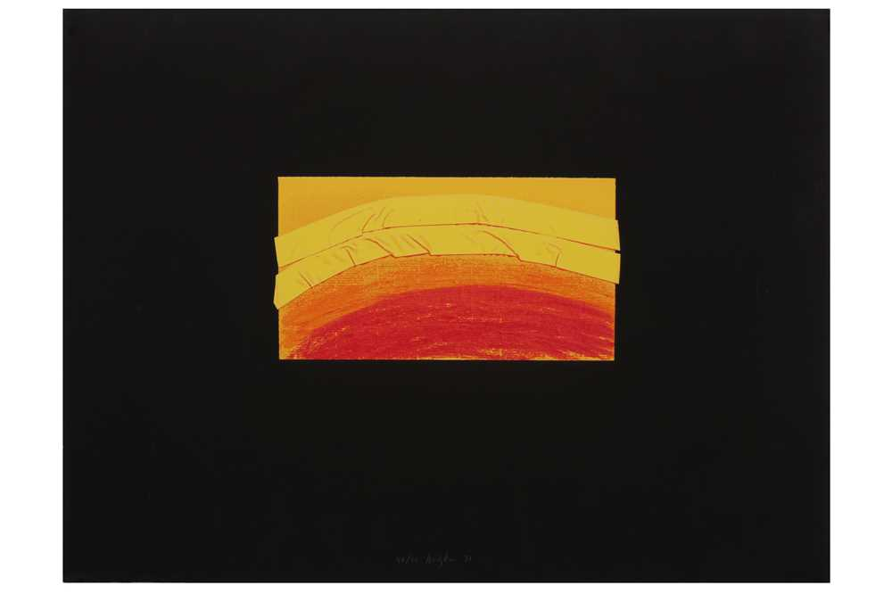 Lot 8-HOWARD HODGKIN (1932-2017)