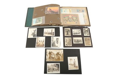 Lot 849-A COLLECTION OF SNAPSHOTS FROM THE MIDDLE EAST, INCLUDING A SOUVENIR ALBUM