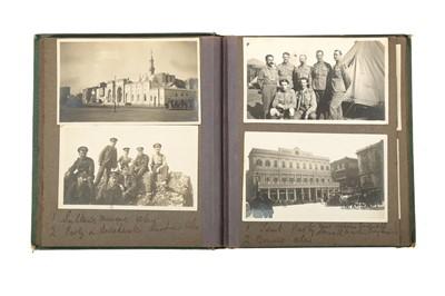 Lot 864-WORLD WAR 1 (1914-1918) PHOTOGRAPH ALBUM