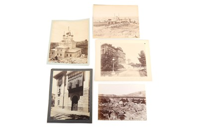 Lot 845 - A SELECTION OF TOPOGRAPHICAL PRINTS: CAIRO AND JERUSALEM