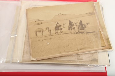 Lot 845-A SELECTION OF TOPOGRAPHICAL PRINTS: CAIRO AND JERUSALEM