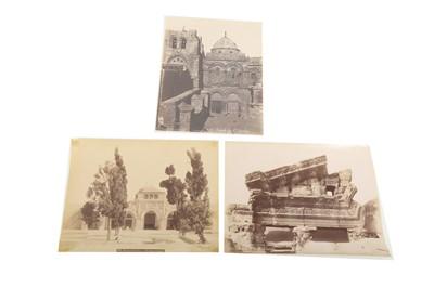 Lot 848-A COLLECTION OF ALBUMEN PRINTS BY FELIX BONFILS (1831- 1885)