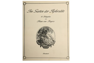 Lot 1048-Bayros (Franz von) Im Garten der Aphrodite