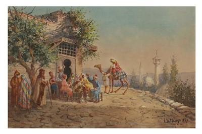 Lot 829-LEONARDO DE MANGO (ITALIAN 1843 - 1930)