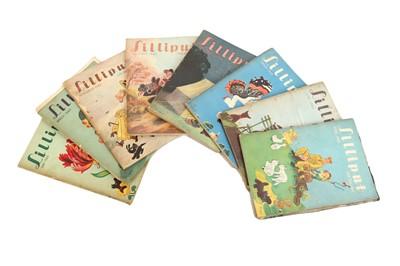 Lot 1074-Magazines.