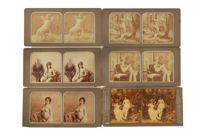 Lot 1017 - A Selection of Erotic Stereocards