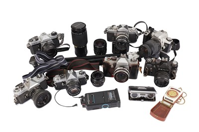 Lot 472-A Pentax KX Outfit & Other SLR Cameras
