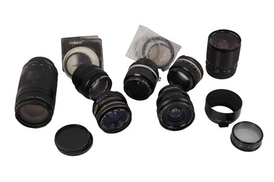 Lot 476-A Selection of Lenses