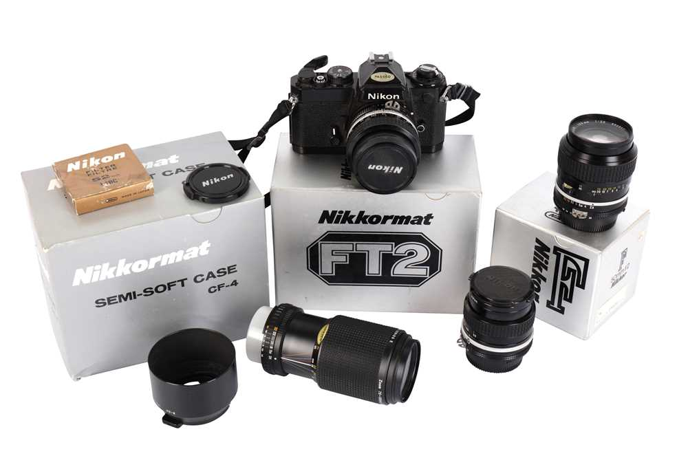 Lot 426-A Nikon FE SLR Camera Outfit