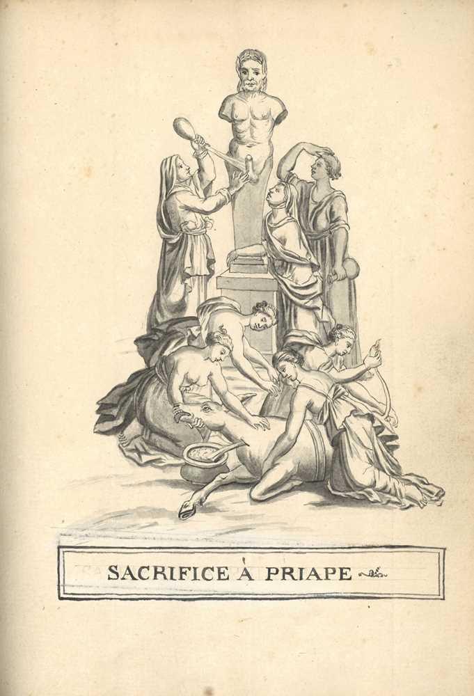 Lot 1004-Remarques historiques sur le dieu Priape