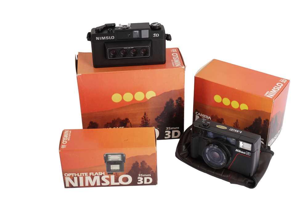 Lot 427-A Nimslo 3D 35mm Camera