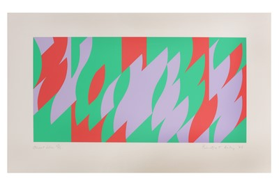 Lot 12-BRIDGET RILEY (B. 1931)