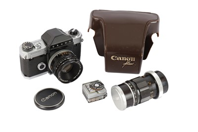 Lot 464-A Canon R2000 SLR Camera Outfit